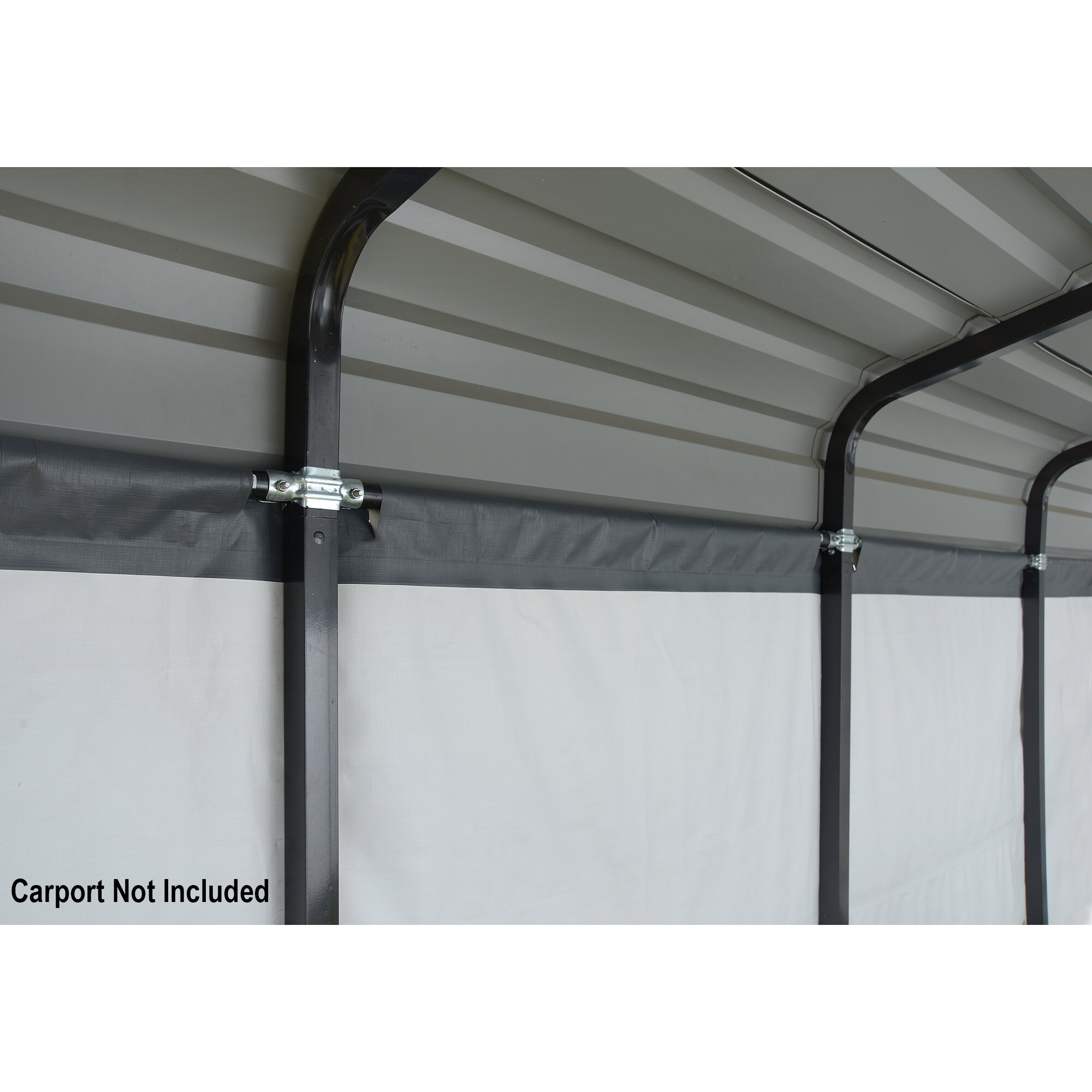 Carport Mon Abri De Jardin enclosure kit 12 ft. x 20 ft. replacement canopy