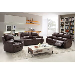 Reno 3 Piece Living Room Set by Living In Style