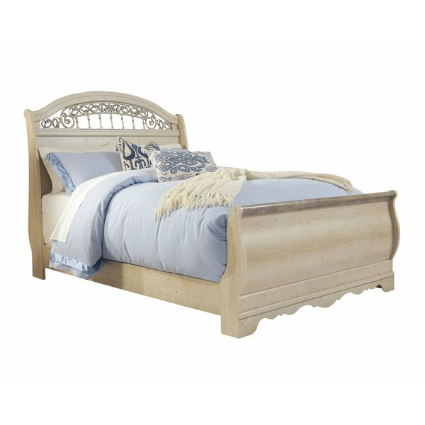 Emely Queen Sleigh Bed by Ophelia & Co.