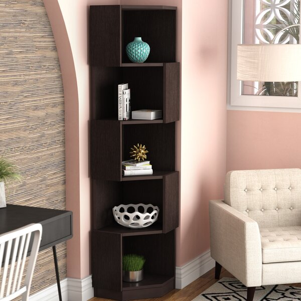 Courtdale Corner Bookcase by Wrought Studio