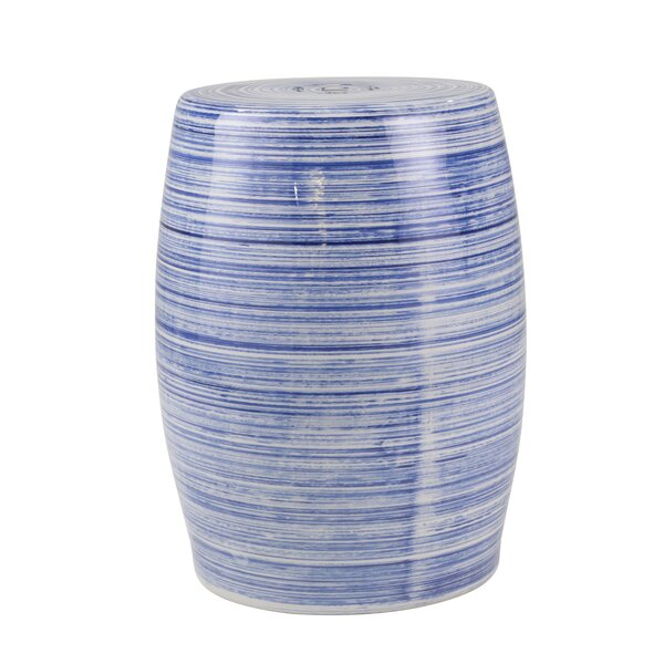 Bercht Ceramic Design Garden Stool by World Menagerie World Menagerie