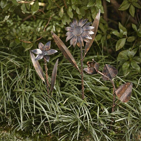 Garden Flower Stakes (set Of 3) By Birch Lane™.