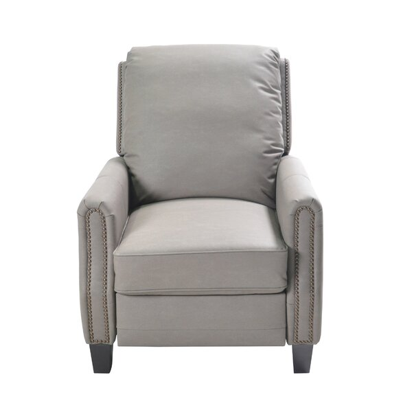 Doucet Push Back Manual Recliner by Darby Home Co