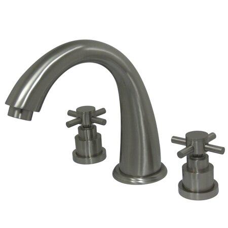 Roman Double Handle Deck Mounted Roman Tub Faucet Trim by Kingston Brass Kingston Brass