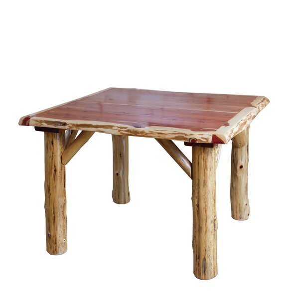 Fowey Family Solid Wood Dining Table By Loon Peak