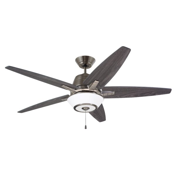 56 Amundsen 5 Blade Ceiling Fan by Brayden Studio