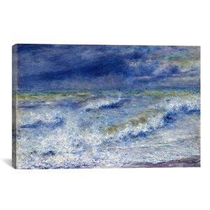 La Vague 1879 by Pierre-Auguste Renoir Painting Print on Canvas by iCanvas