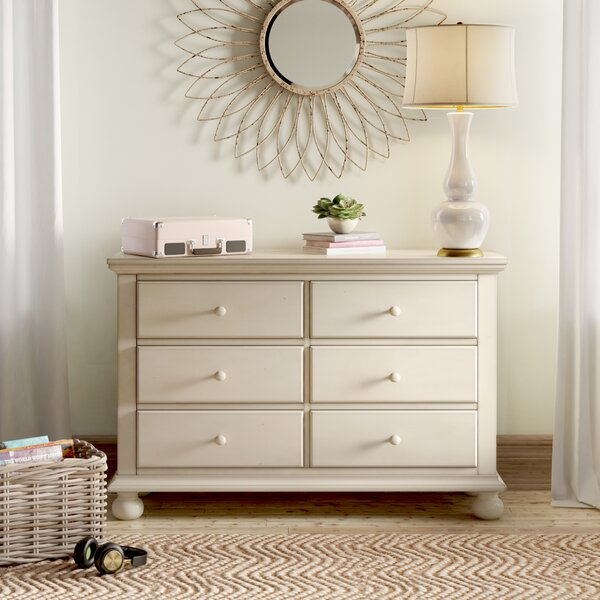 Lia 6 Drawer Double Dresser by Birch Lane™ Heritage