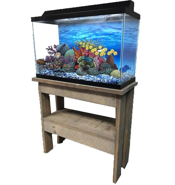 Rustic Series Cabinet Aquarium Stand By Rj Enterprises.