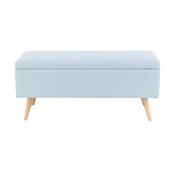Padillo Upholstered Storage Bench by George Oliver