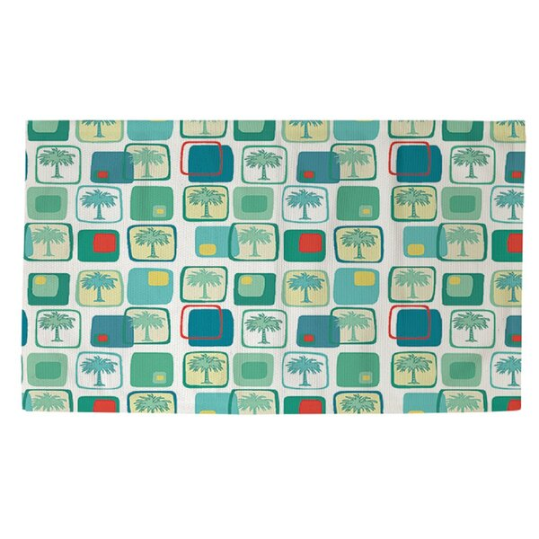 Deco Palm Area Rug by Manual Woodworkers & Weavers