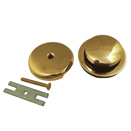 Made To Match Drain Stopper Tub Drain with Overflow by Kingston Brass
