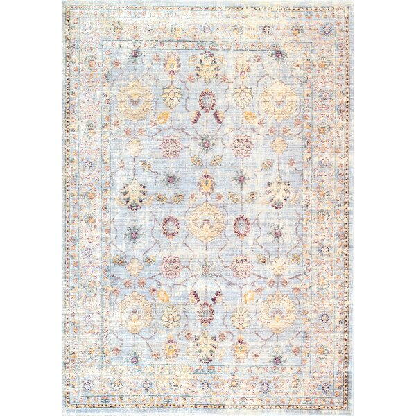 Pereyra Off-white Area Rug by Bungalow Rose