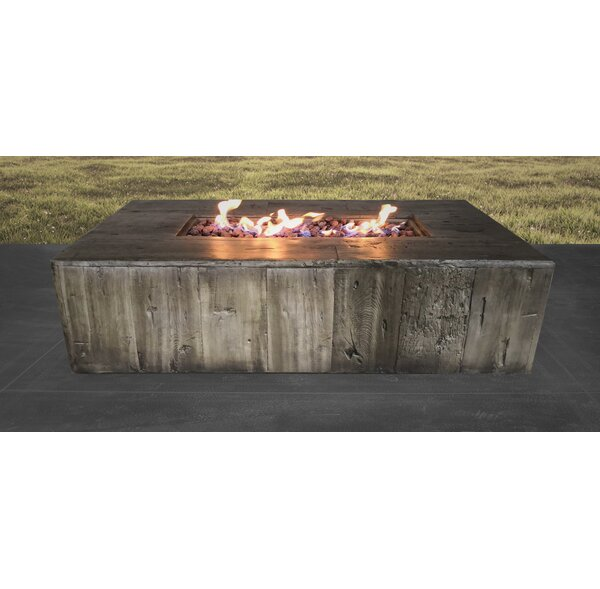 Palmas Propane/Natural Gas Fire Pit Table by Living Source International
