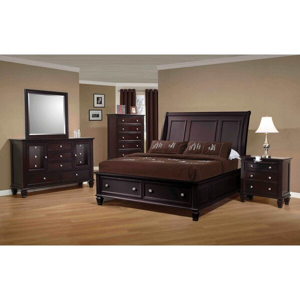 Aveley Low Profile Platform Configurable Bedroom Set by Red Barrel Studio Red Barrel Studio