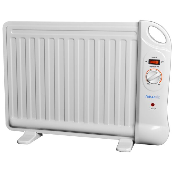 400 Watts Oil-Filled Radiator Panel Heater By NewAir