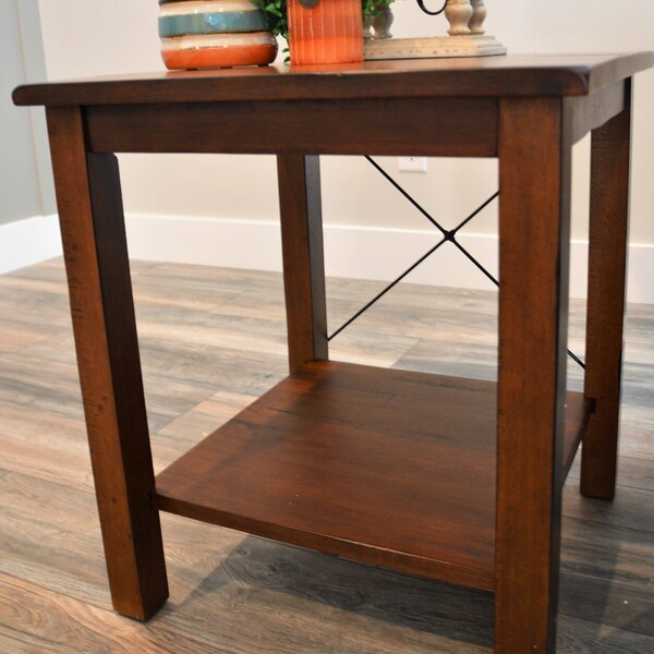 Taylorstown End Table by Alcott Hill