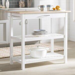 White Kitchen Islands U0026 Carts Youu0027ll Love | Wayfair