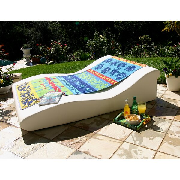 Tide Duo Low Pro Sun Double Chaise Lounge by La-Fete
