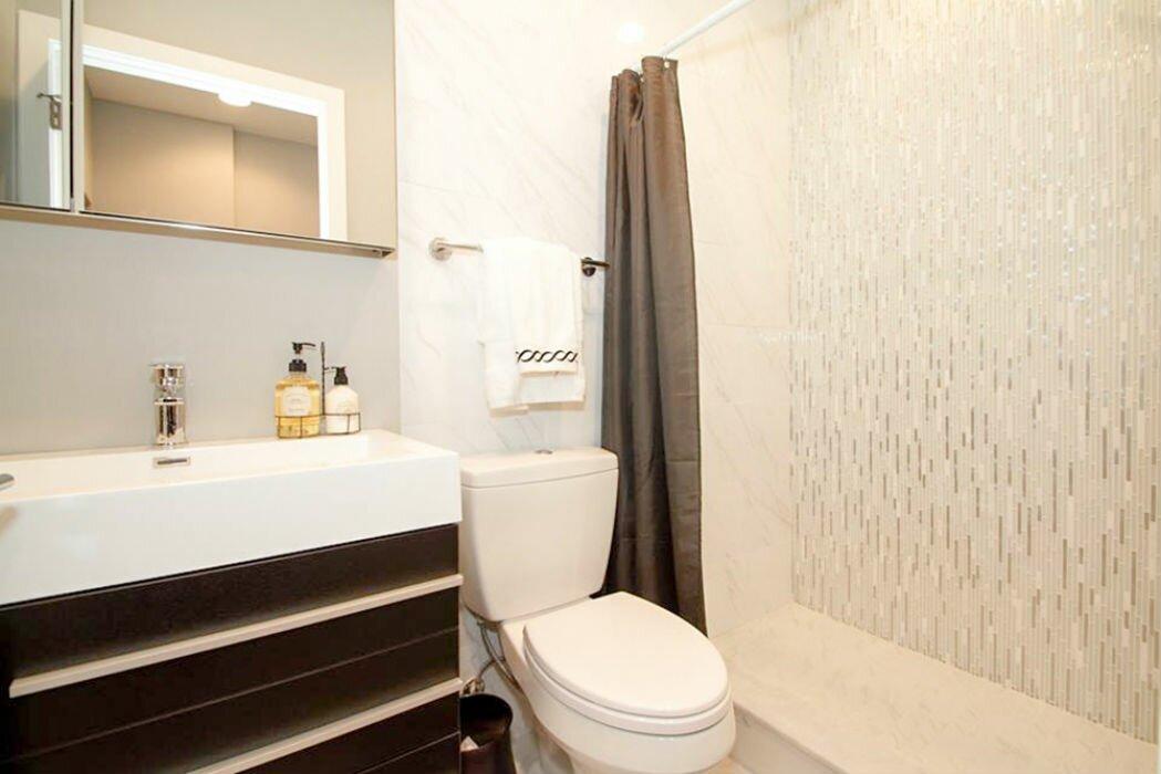 Linear Bathroom Tiles