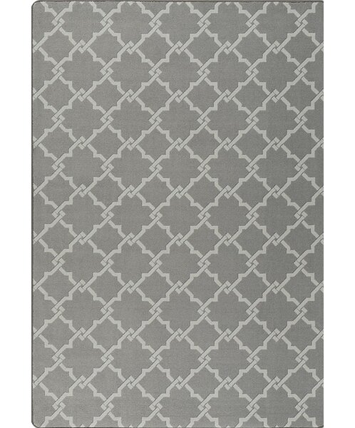 Tinsman Gray Area Rug by Charlton Home