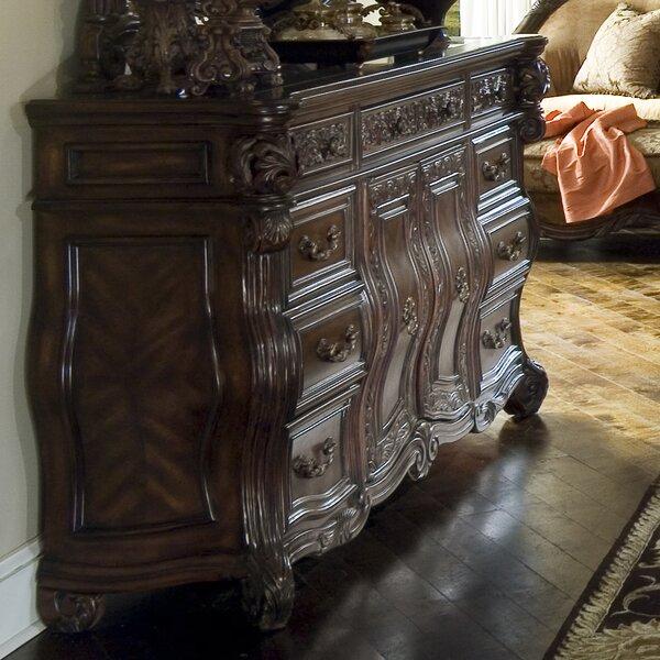 Essex Manor 9 Drawer Standard Dresser by Michael Amini