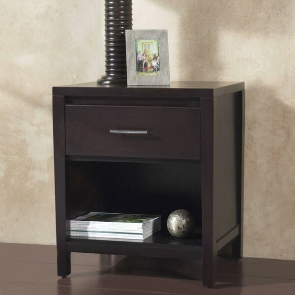 Gallup Wooden 1 Drawer Nightstand By Ebern Designs by Ebern Designs
