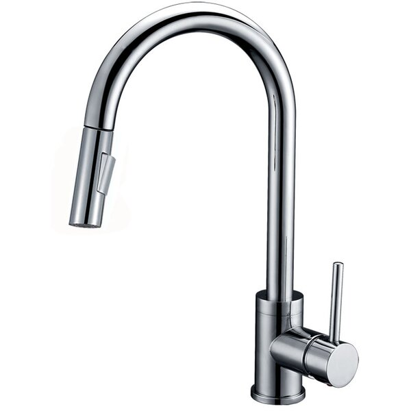 Luxurious Single Handle Pull-down Kitchen Faucet by Y Decor