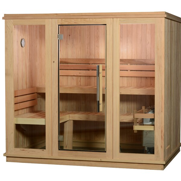 Braxton 6 Person Traditional Steam Sauna by Almost Heaven Saunas LLC