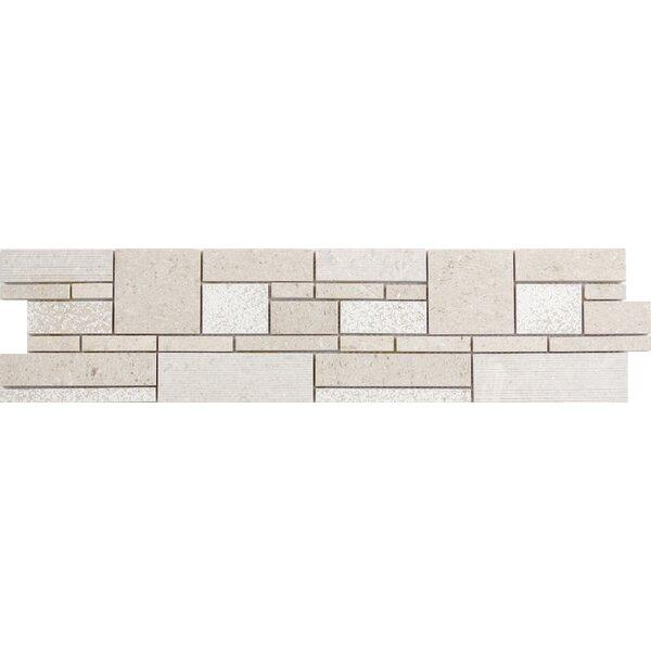 Presidio Limestone Mosaic Tile