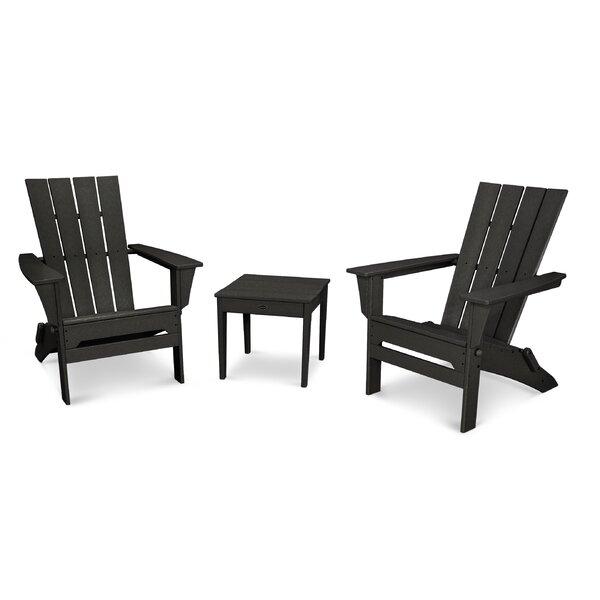Quattro Plastic Adirondack Chair by POLYWOOD POLYWOOD®