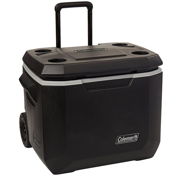 50 Qt.Coleman Wheeled Cooler by Bradley Smoker
