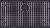 Wire Craft 28 x 15 Bottom Grid by Houzer