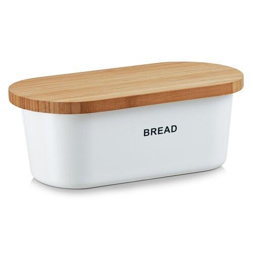 Brotkasten | Küche und Esszimmer > Aufbewahrung | Weiß | Melamin - Bambus - Kunststoff | Zeller