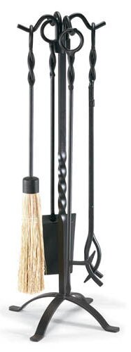Twirl 5 Piece Iron Fireplace Tool Set by Pilgrim Hearth