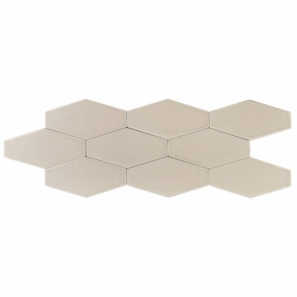 Birmingham 4 x 8 Ceramic Field Tile in Taupe by Splashback Tile