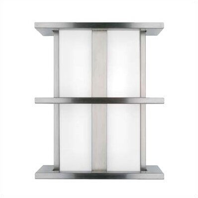2-Light Outdoor Flush Mount by Ivy Bronx