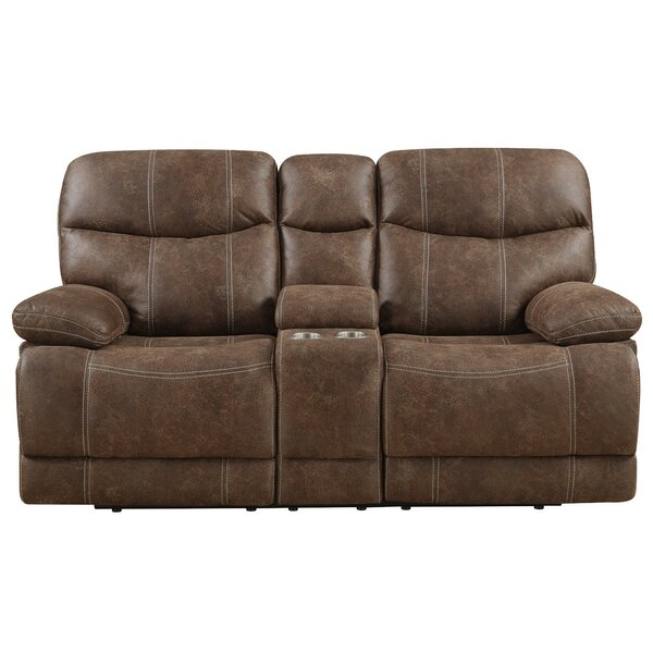 Buy Online Discount Sellars Motion Reclining Loveseat by Red Barrel Studio by Red Barrel Studio