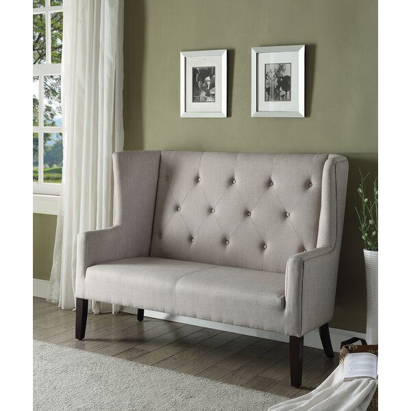 Cute Wiltshire Settee by Charlton Home by Charlton Home