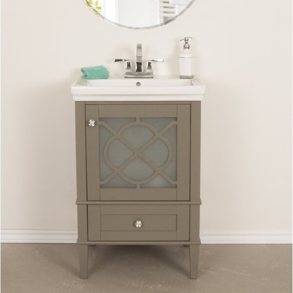 Wheatley 24 Single Bathroom Vanity Set by Willa Ar