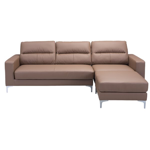 Nott Reversible Sectional with Ottoman by Brayden Studio