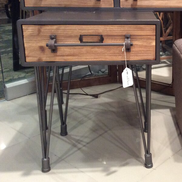 Woodard End Table by Williston Forge