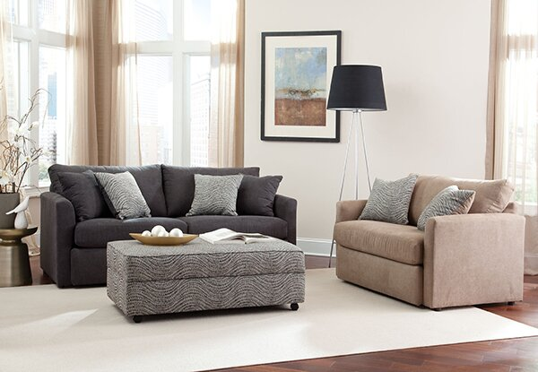 Kalel Sleeper Sofa by Wrought Studio
