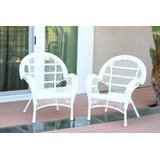 Indoor White Wicker Chairs   Wayfair