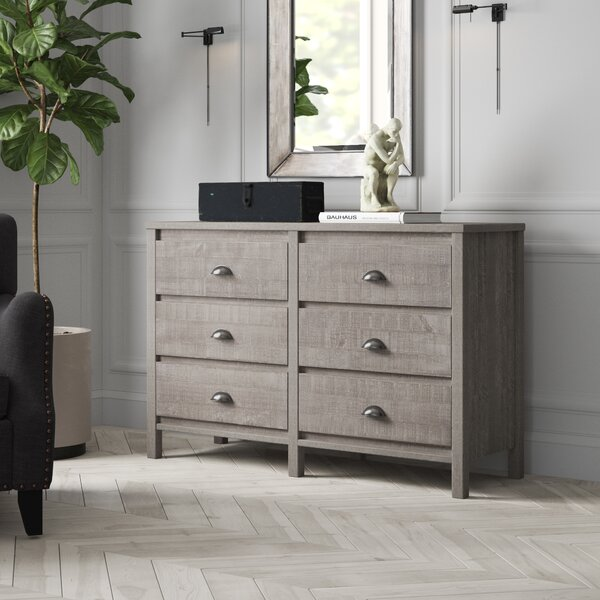 New Design Bedias 6 Drawer Double Dresser By Greyleigh No Copoun