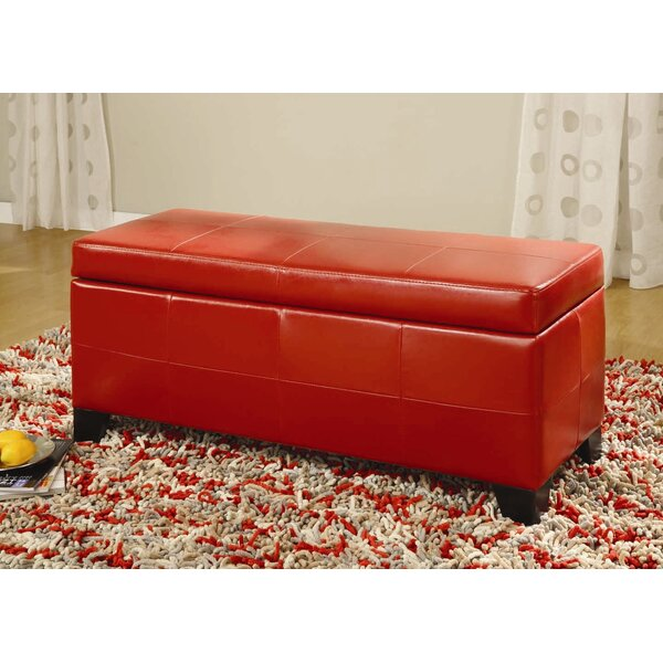 West Seattle Upholstered Storage Bench by Red Barrel Studio
