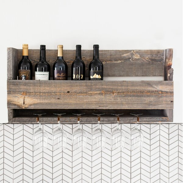 Ezequiel Reclaimed Wood Wall Shelf by Loon Peak