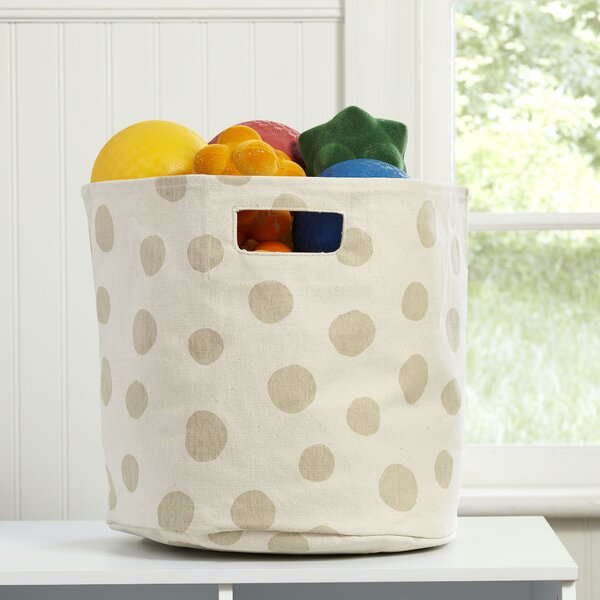 Dotty Canvas Bin by Birch Lane Kids™