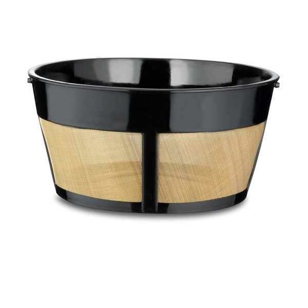 Universal Permanent 12 Cup Basket Filter by Medelco, Inc.