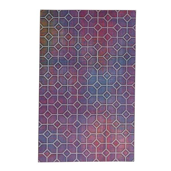 Pauling Trellis Voilet/Pink Area Rug by Brayden Studio